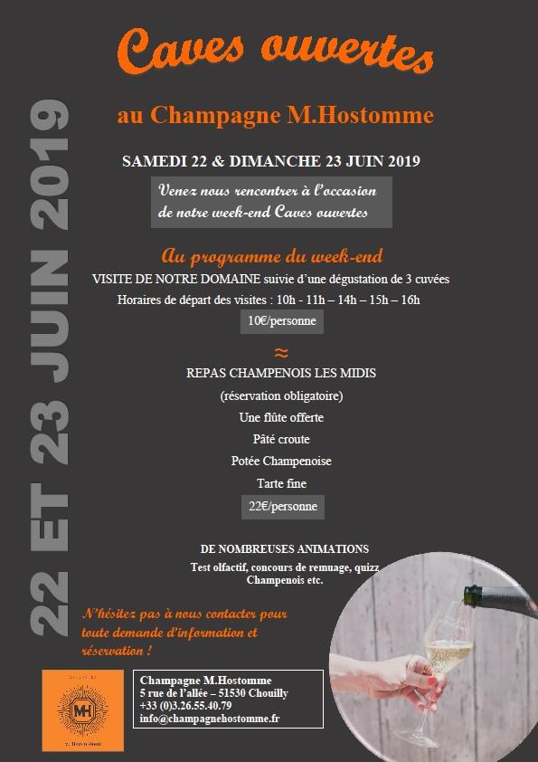 Caves ouvertes au Champagne M.Hostomme